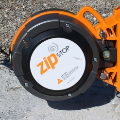 Brake system for trolleys - Zip Stop