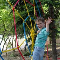 купить детский веревочный парк