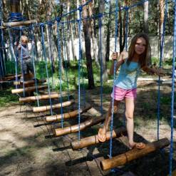 построить детский веревочный парк