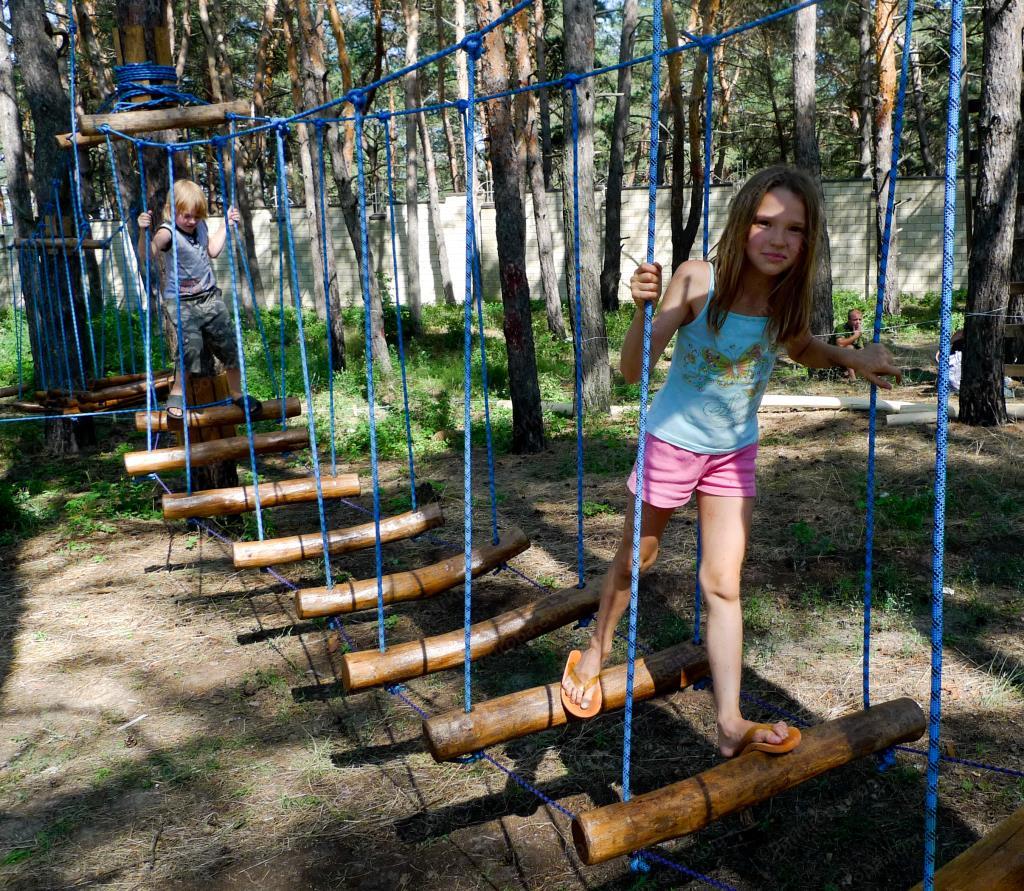Как сделать веревочный парк своими руками 23