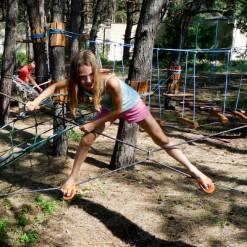 строительство детского веревочного парка