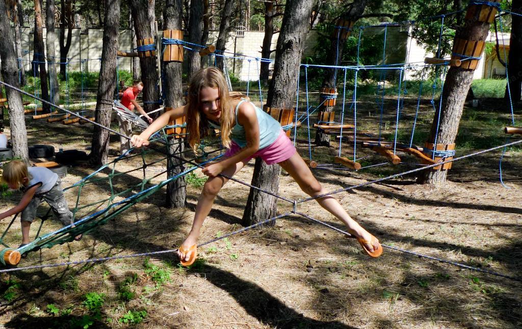 Как сделать веревочный парк своими руками 21
