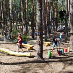 проектирование детского веревочного парка
