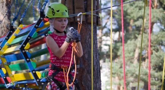 детский веревочный парк юный альпинист Ирпень