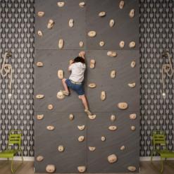 построить домашний скалодром