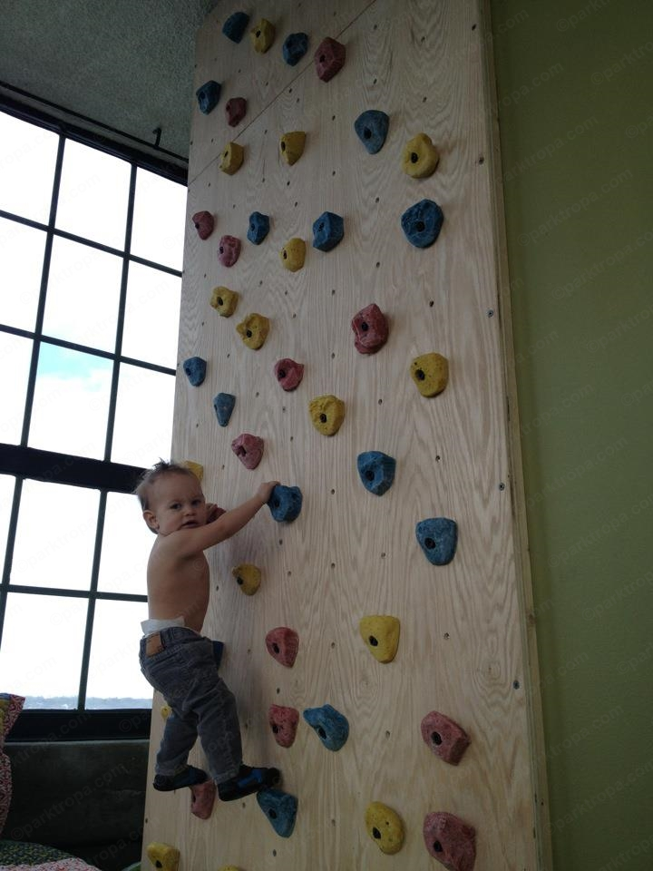 Rock Wall For Kids: Adventure Parks TROPA