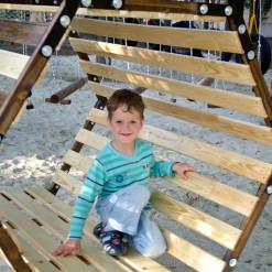 Детский веревочный парк GOLDEN
