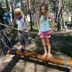 Детский веревочный парк ШИШКИНО, Днепропетровск, 2011