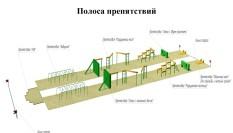 проектирование военной полосы препятствий