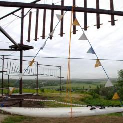 веревочный парк на опорах купить