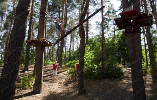 высокий веревочный парк Ирпень