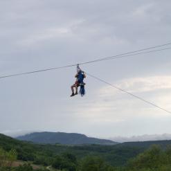Zip line Парк РОДНОЕ