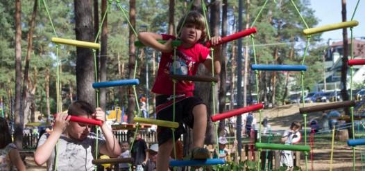 детский веревочный парк Ирпень