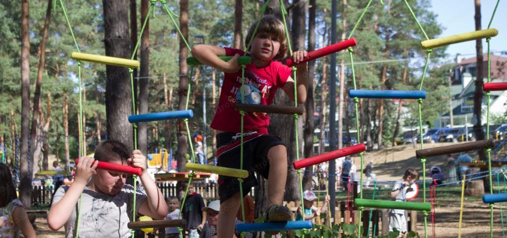 Детский веревочный парк своими руками 64