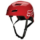 Fox Transition Hard Shell Helmet Red