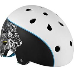 Helmet Powerslide King Black-White