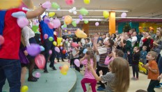 Celebration at St. Nicholas! Opening of children's entertainment center SKY UP in Rivne.
