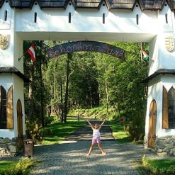 Веревочный парк для курорта Voevodyno