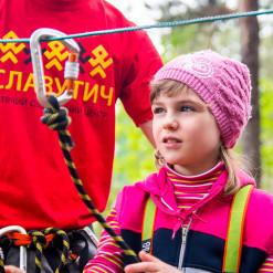 Веревочный парк для детского лагеря