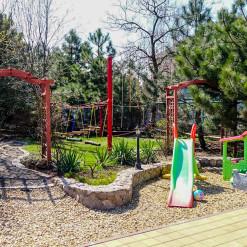 Rope park for garden