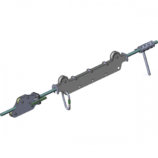 Тормозная тележка с улавливателем кареток ZIP-STOP-HOLD