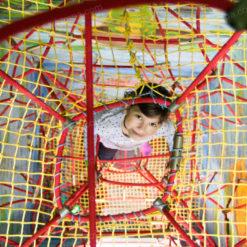 Канатный аттракцион «3D-ПАУТИНА» для детского развлекательного центра