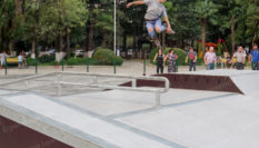 Открытие скейт-парка в Кутаиси 2018, Грузия