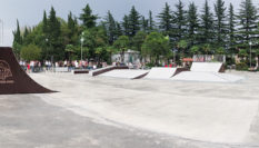 Opening of a skate park in Kutaisi 2018, Georgia