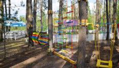 Children's rope park LAZALKA, Zhytomyr 2018