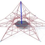 Канатная Пирамида ВУЛКАН 3х6