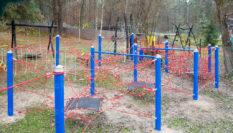 Детский игровой комплекс для БАЗЫ ЛЕС