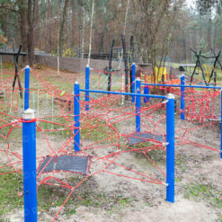 "Children's game rope complex for country residence   ""Forest """