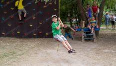 Детский веревочный парк  «Лазалка » для Житомира