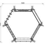 Детский игровой комплекс «Геометрия»
