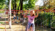 Детская площадка для двора ЛАЗАЛКА