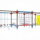 Спортивно — туристический комплекс с элементами веревочного парка