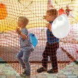 Детская веревочная площадка ЛАЗАЛКА