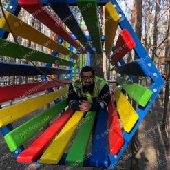Новая линия детского веревочного парка CRAZY BEE