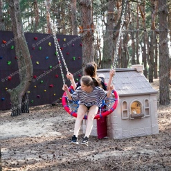 Спортивно-развивающая детская площадка для загородного комплекса