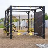 Детская площадка «ЛАЗАЛКА» на опорах