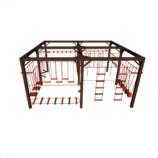 Детский канатный комплекс «макси»  из 4 модулей