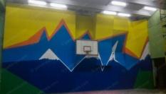 Скалодром для школы, Харьковская область.