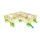 Модульная веревочная площадка на 13 конкурсов