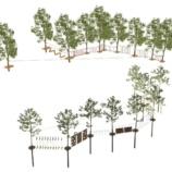 Веревочный парк на 20 этапов