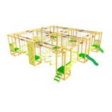 Модульная веревочная площадка на 16 конкурсов