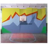 Скалодром для школы 10х 8 м ( скорость + сложность)