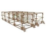 Модульный веревочный парк, 40 этапа