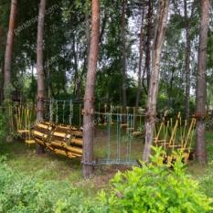 Мини-веревочный парк для загородного комплекса